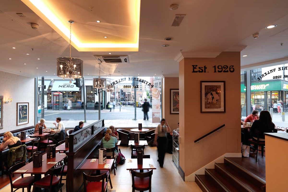 Patisserie Valerie, Liverpool | J Wilkinson Group